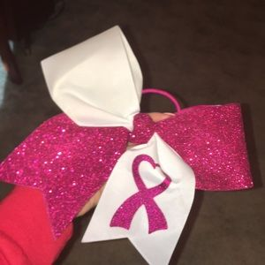 Accessories - 3 for $12 Brest cancer awareness bow